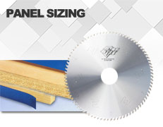 Saw blade for Panel Sizing