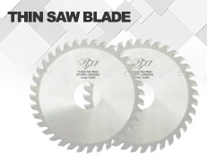 Saw blade for Thin Saw Blades