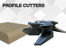 Profile cutters