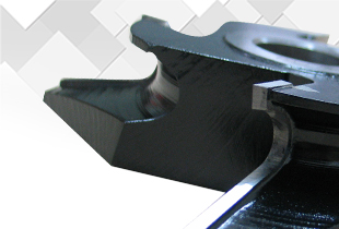 Quarter round Profile cutters