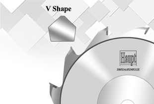 V-shape Scoring Saw